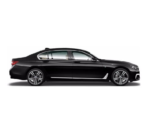 Sedan Premium Luxury - BMW 7 Series LongRecommended: 3 x Passengers, 2 x LuggageCapacity: 4 x Passengers, 2 x LuggageOverflow vehicles - Audi A8, Mercedes S-Class, Jaguar XJR or similar
