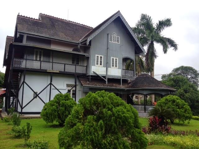 grey and black aung san house museum yangon rangoon