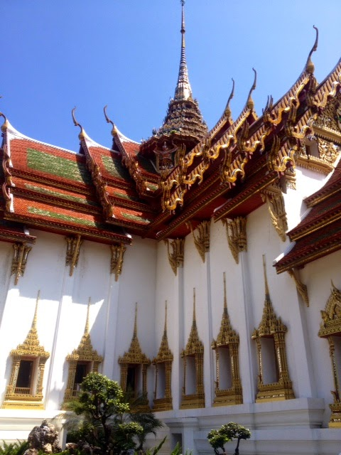 a model of the grand palace