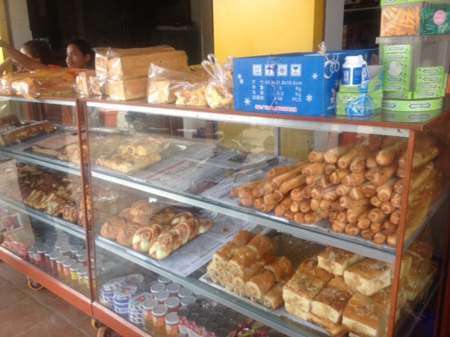 bread for sale in Cambodia