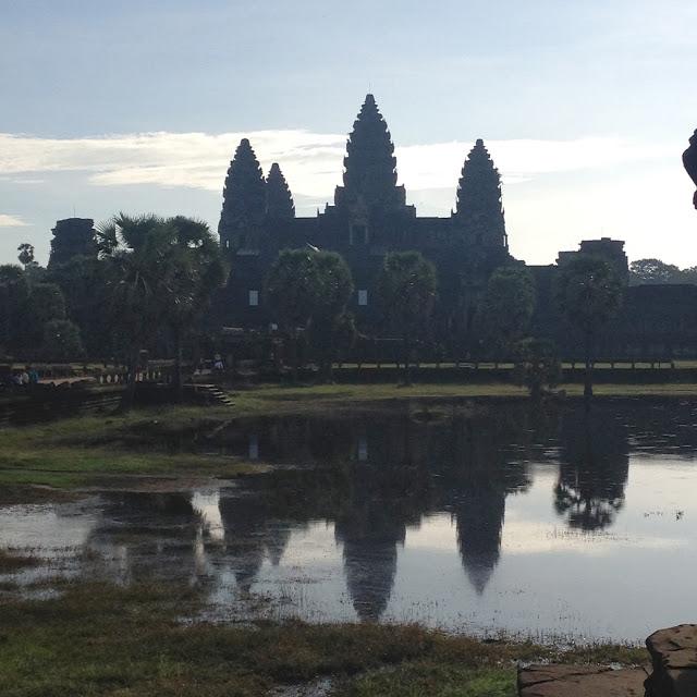 Angkor Wat historical park ruins of ancient Khmer Temples, Siem Reap, Cambodia
