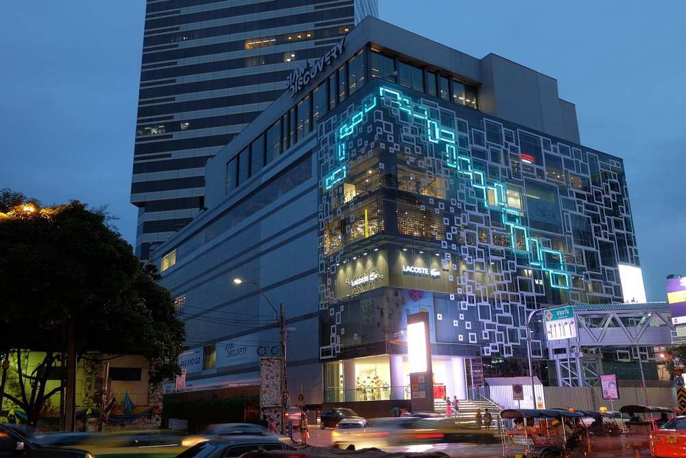 Siam Discovery shopping mall in downtown Siam Square Bangkok, Thailand