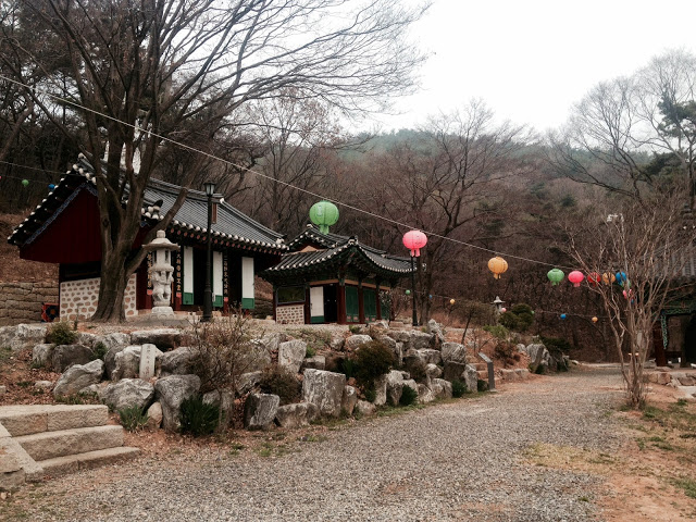 Mountain temple in Incheon, Korea