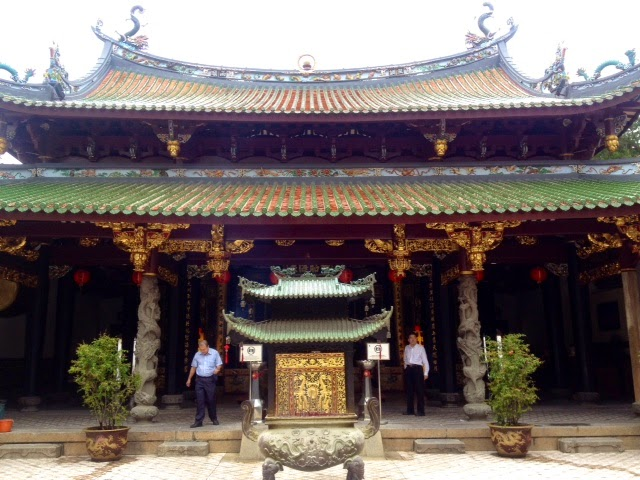 old chinese temple in Singapore