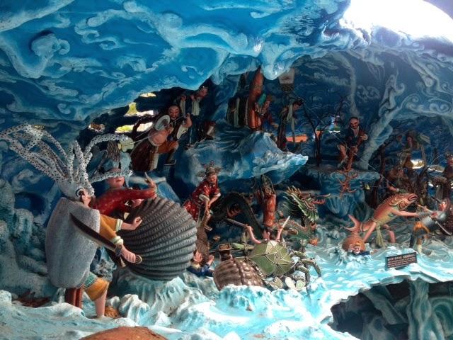 strange depictions of Chinese mythology, Singapore