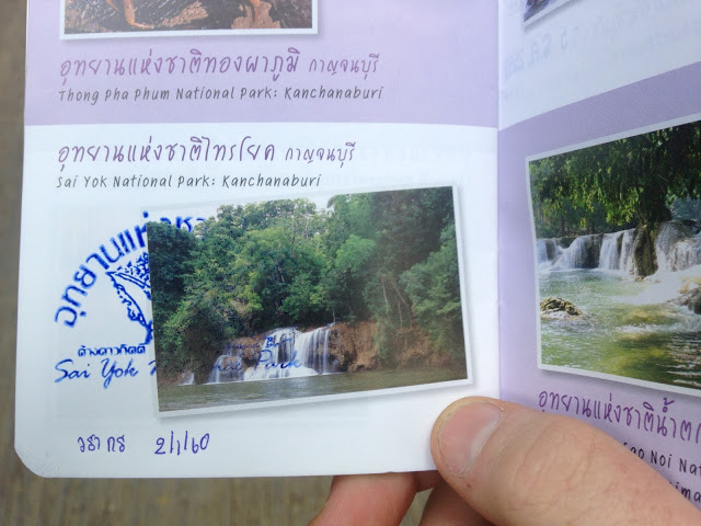 Thai national park passport program