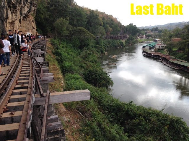 wang po viaduct railroad along the river kwai