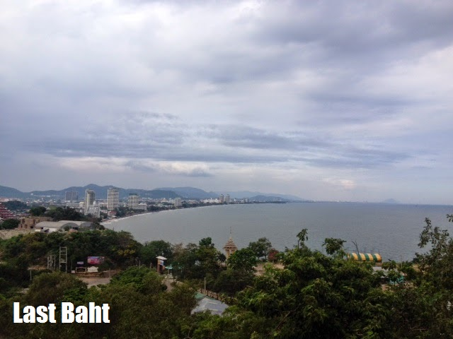 a view of Hua Hin from high above