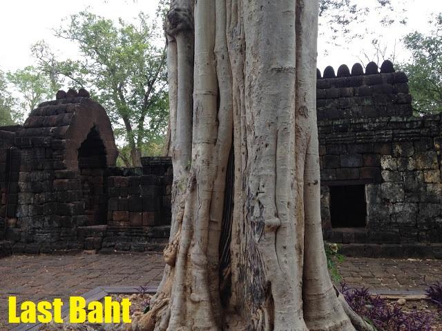 old khmer temple in Kanchanaburi, Thailand