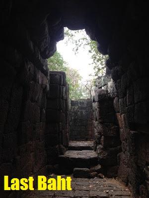 temple ruins, Kanchanaburi, Thailand
