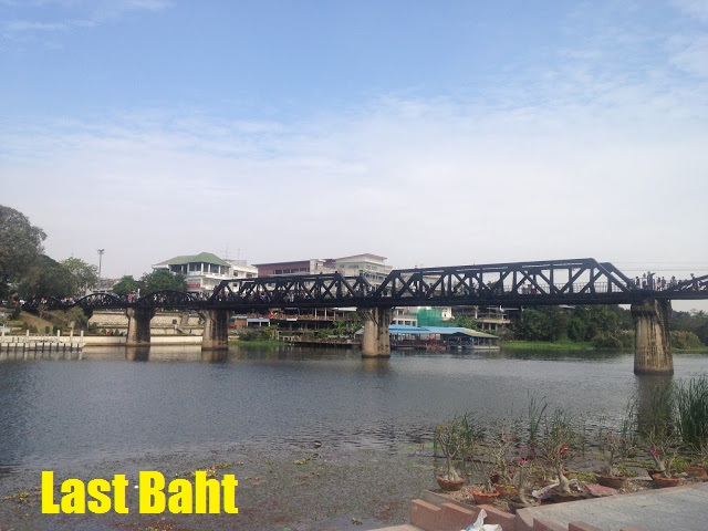 the Bridge on the River Kwai, Kanchanaburi, Thailand