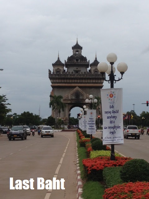 the laotian arc du triomphe