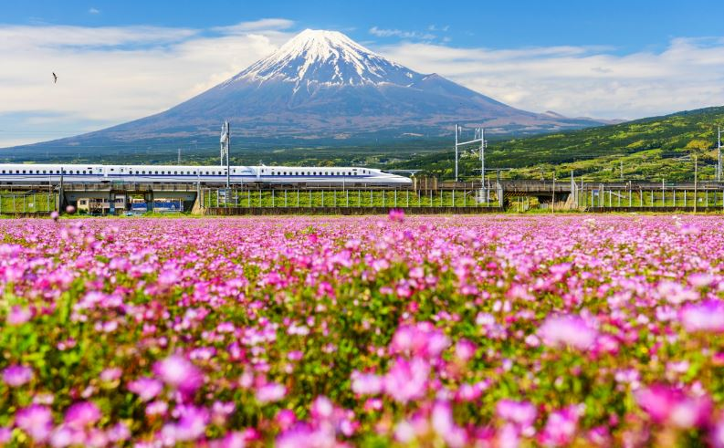 Japan Rail via Depositphotos