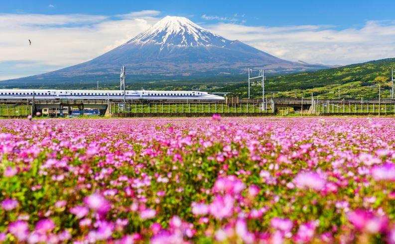 Japan Rail via Depositphotos