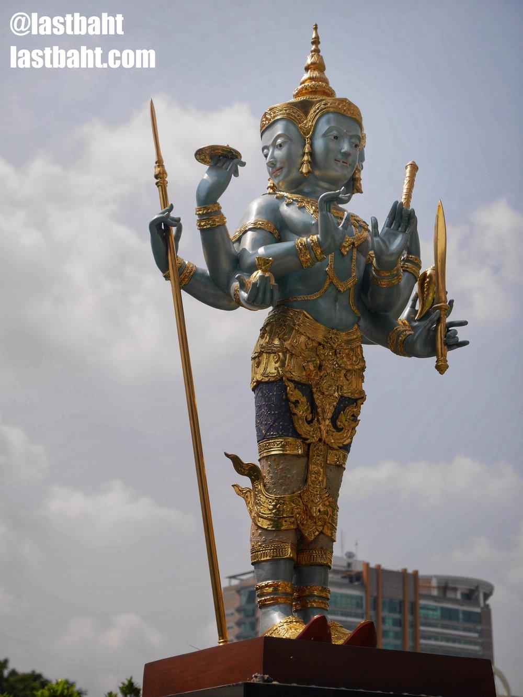 Jatulokbal Shrine in downtown Bangkok