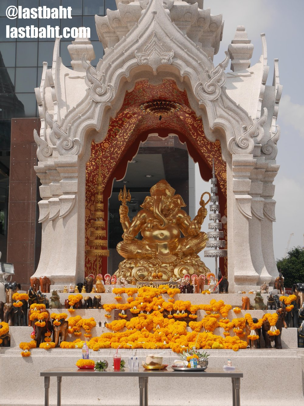 Ganesh Shrine in Bangkok