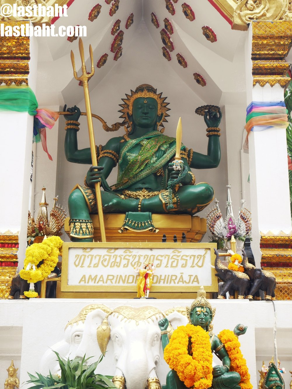 Shrine to Indra at Amarin Plaza, Bangkok