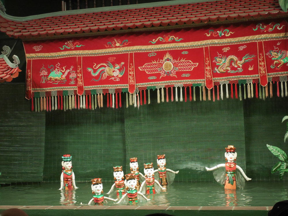 Vietnamese water puppetry