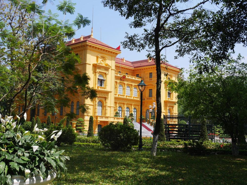 Vietnam's Presidential Palace