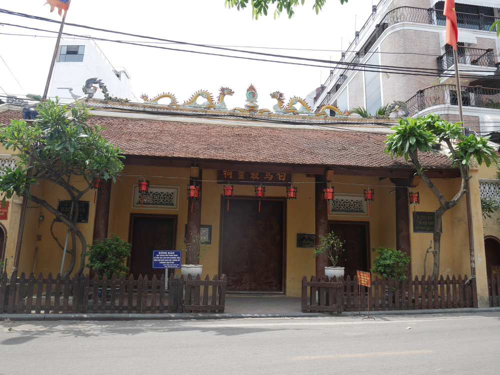 Bach Ma Temple in Hanoi