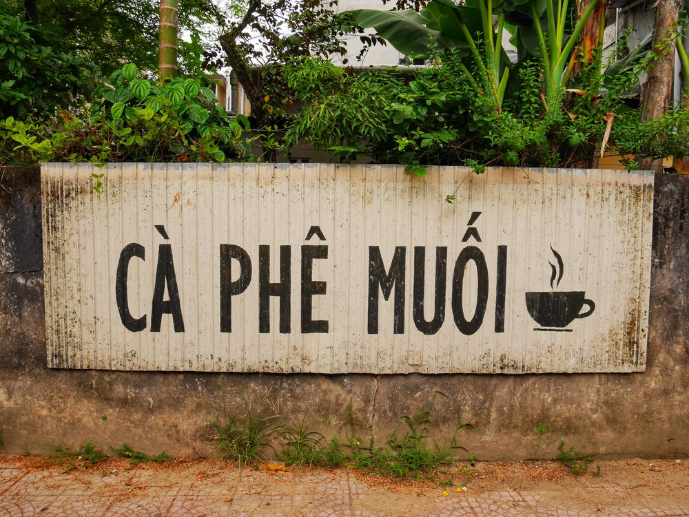 ca phe muoi hue vietnam salt coffee