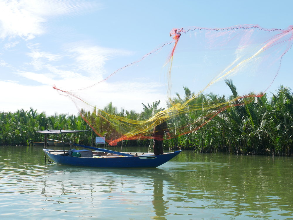 You will get to try your hand at traditional net fishing