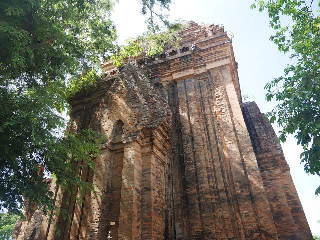 tower of champa, po nagar, vietnam