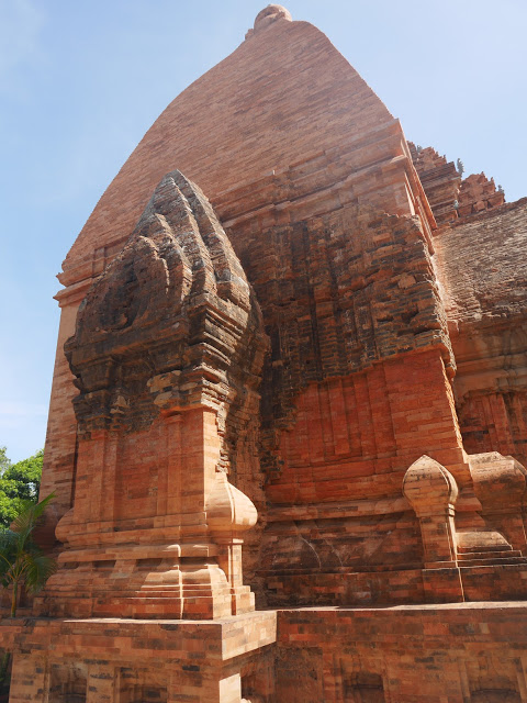 khmer-style ruins in southern vietnam