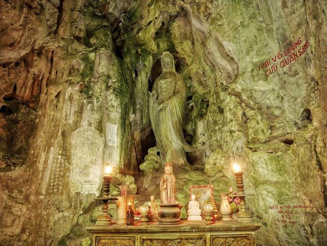 cave shrine to Guanyin