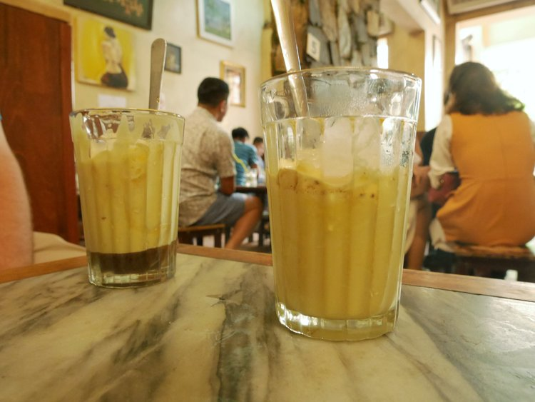 hanoi egg coffee