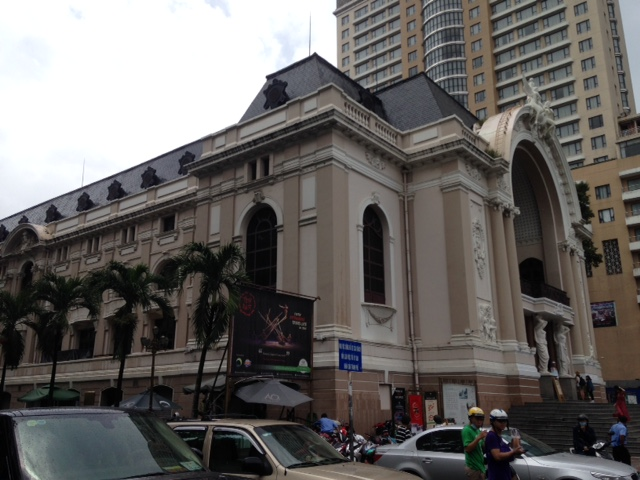 the storied Saigon Opera House