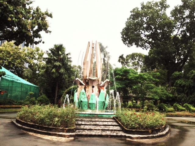 Saigon Zoo Fountain