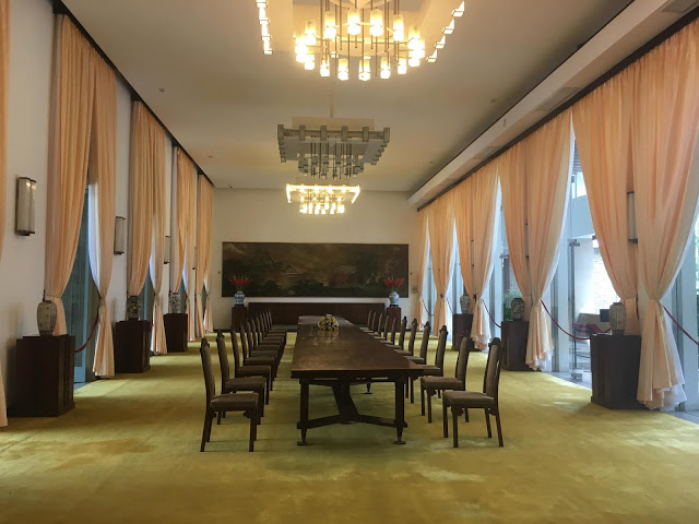 official state dining room