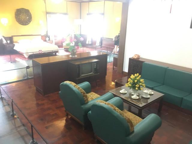 president's living quarters