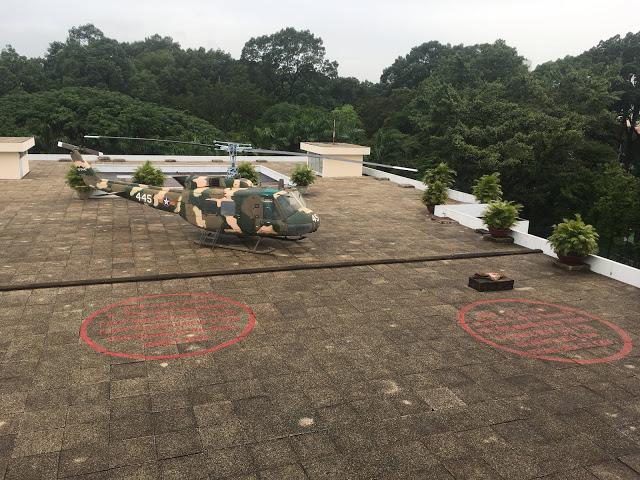 palace rooftop helipad