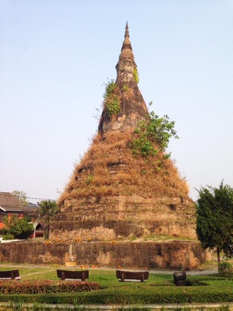 That Dam Stupa, Vientiane, Laos