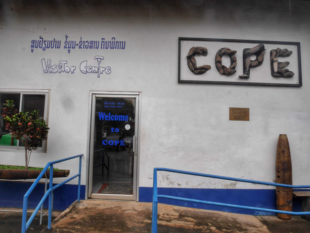 COPE Visitor's Center in Vientiane