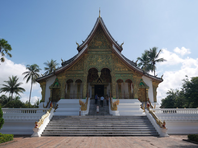 Haw Phra Bang, the royal temple of Luang Prabang, Laos