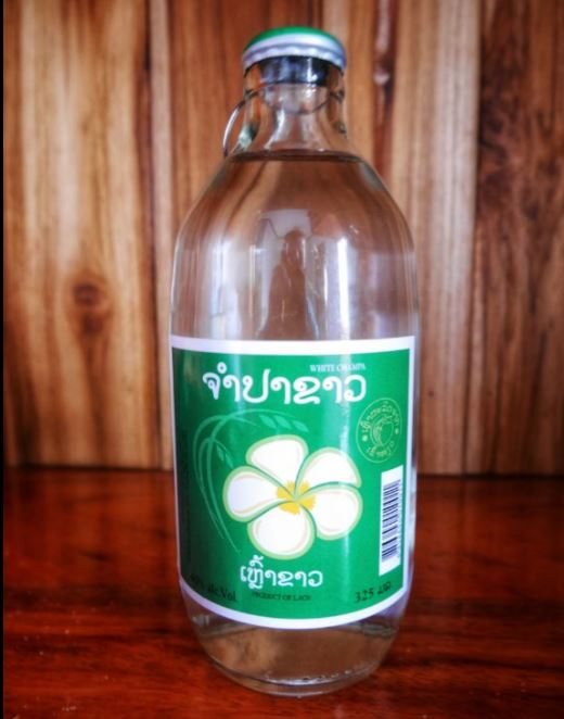 a bottle of lao-lao