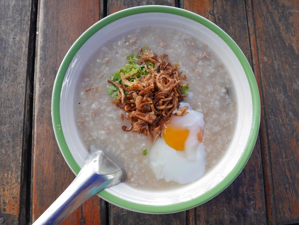 Rice Porridge pr Joke Lao, Luang Prabang
