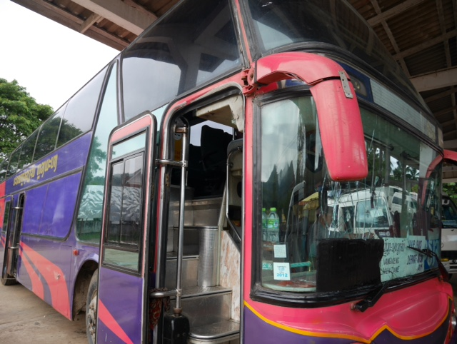 VIP day bus in Laos