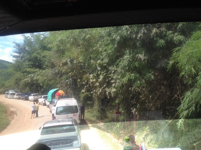 the roads in Laos can be unsafe and slow