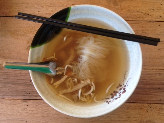 noodle lunch provided