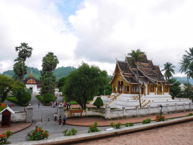 Haw Phra Bang, one of the top temples to visit in Luang Prabang, Laos