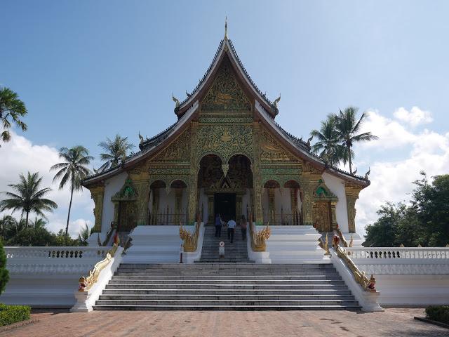 Haw Phra Bang Temple, Luang Prabang, Laos