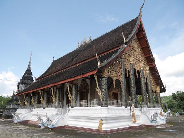 Wat Phra Mahathat temple, Luang Prabang, Laos
