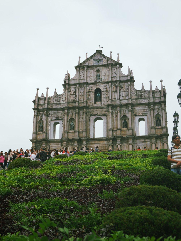 Ruins of St.Paul's, Famous spot of Macau