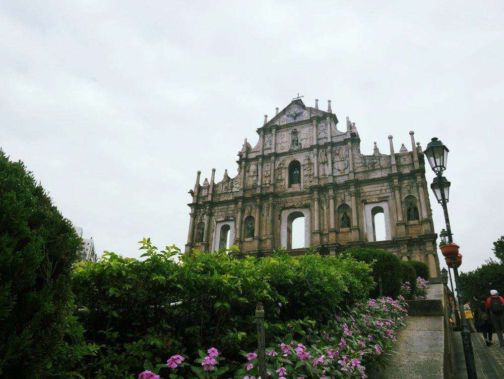 The Ruins of St. Paul's Church - Macau