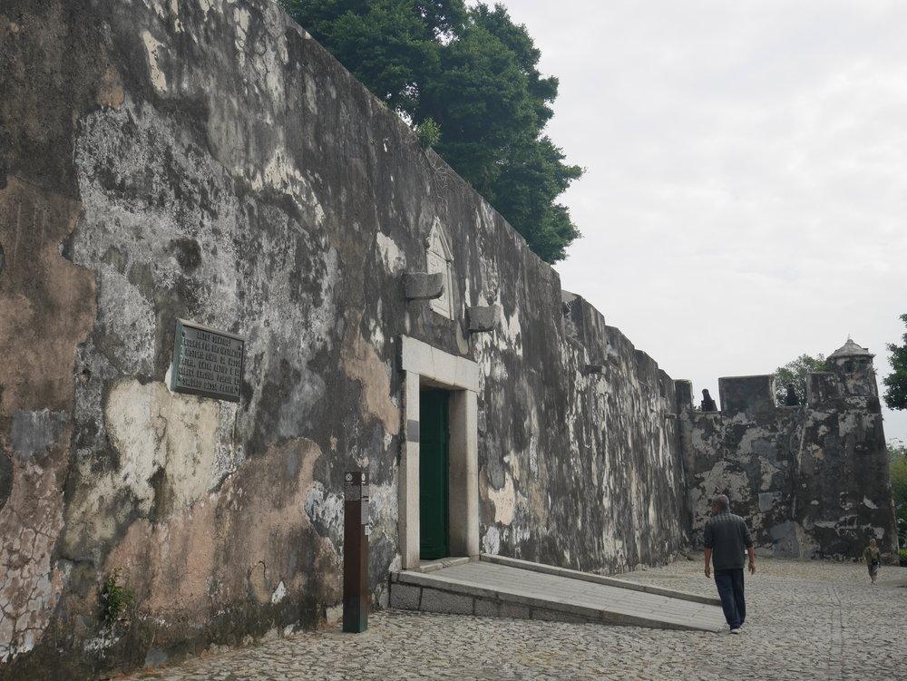 Mount Fortress (Fortaleza do Mont), Macau