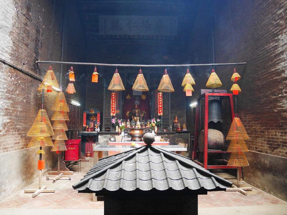 Temple in Coloane, Macao